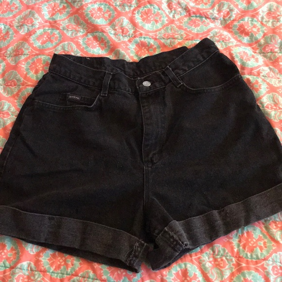 Riders by Lee Pants - Black high waisted